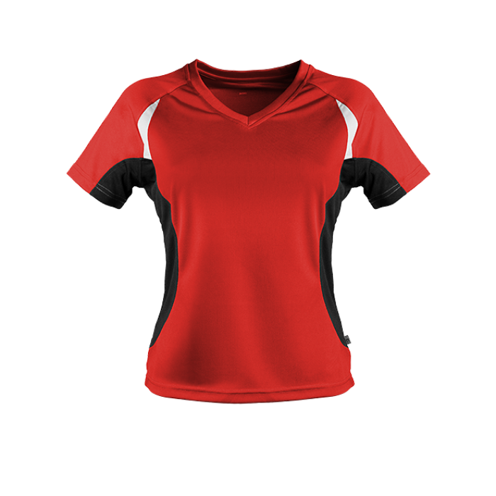 Damen Lauf Shirt contrast bunt