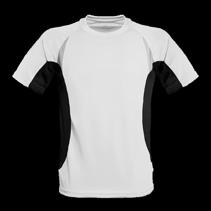 Herren Lauf Shirt contrast