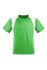 Marathon Shirt Herren limetengrün/weiß
