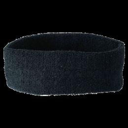 Sport Stirnband RUN RUN schwarz