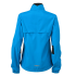 Ladies Running Jacket atlantic/black Rückseite