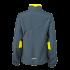 Ladies Running Jacket irongrey/lemon Rückseite