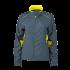 Ladies Running Jacket irongrey/lemon