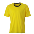 Running Shirt lemon/irongrey