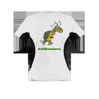 Damen Laufshirt bedrucken Turtle Logo