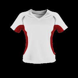 Damen Laufshirt Contrast