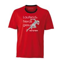 Hetzner Firmenlauf Shirt mit Siebdruck
