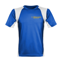Lufthansa Firmenlauf Shirts mit Flexdruck