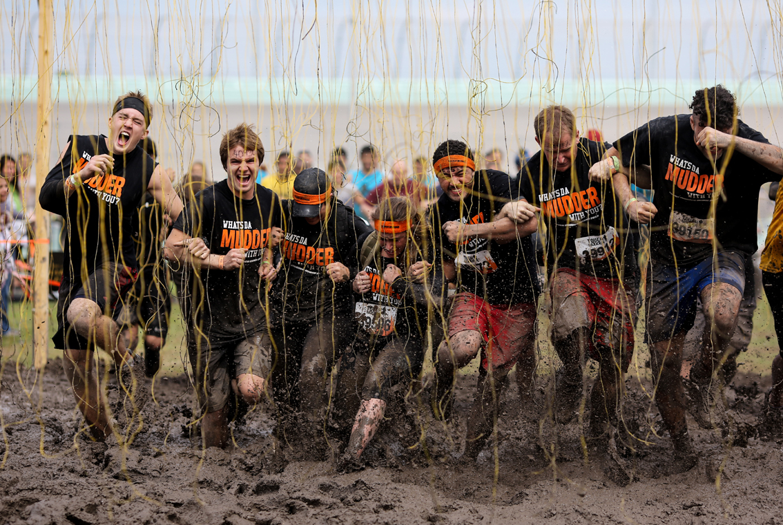 as the tough The wind was blowing hard at noon on saturday, april 20, when avishek sengupta and his five teammates gathered near the starting corral of the 2013 mid-atlantic tough mudder.