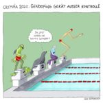 doping cartoon