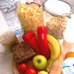 Bevorzugte Nahrungsmittel vor dem Laufen