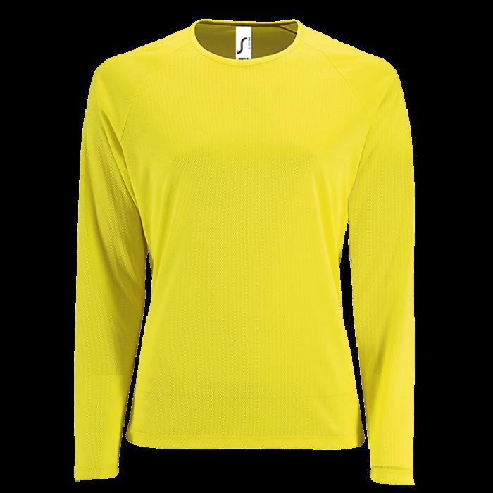 Damen Sport T-Shirt langarm