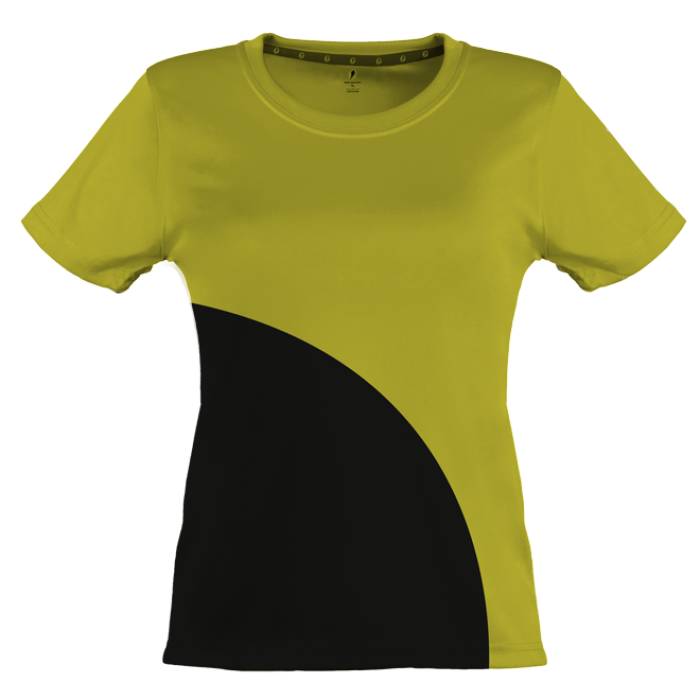 SportsTime Curved Shirt Women