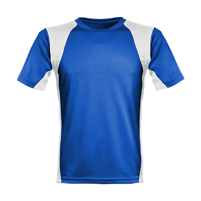 Men´s Runner´s High Funktionsshirt royalblau/weiß