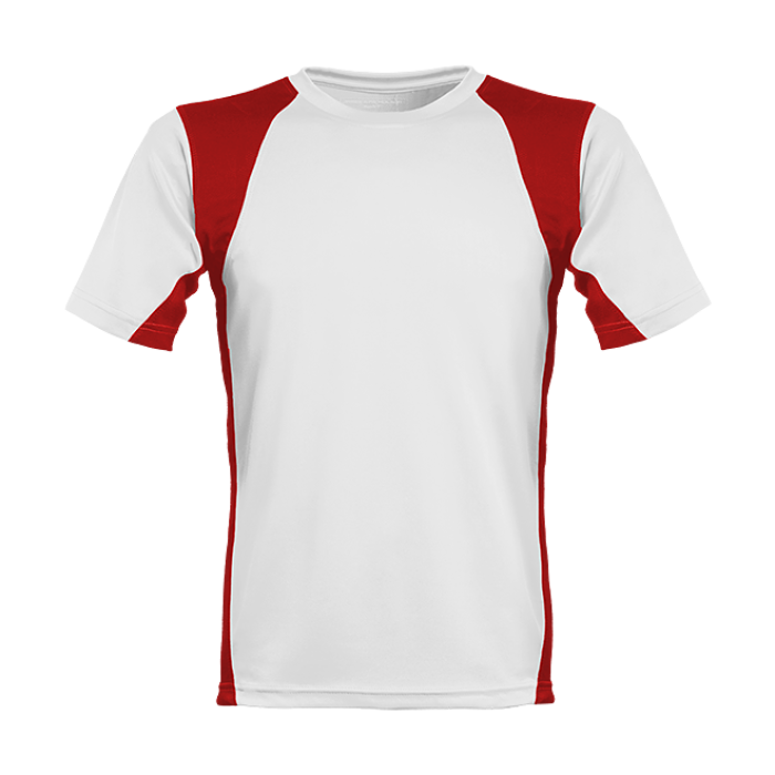 Herren Funktionsshirt Men´s Runner´s High weiss/rot