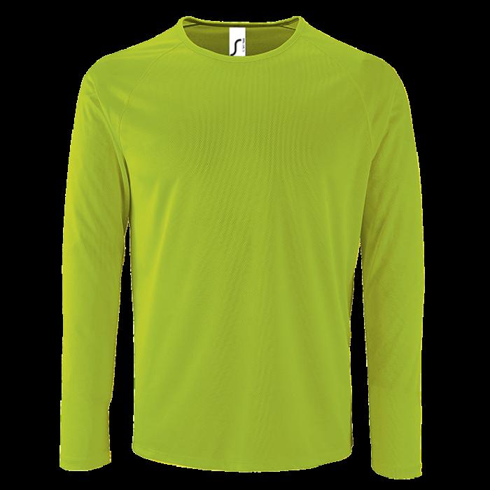 Herren Sport T-Shirt langarm