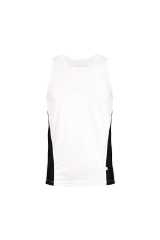 Men´s Runner´s High Tank Top weiß/schwarz