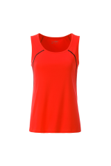 Endurance Lauf Tank Top Women Neonorange