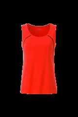 Endurance Lauf Tank Top Women Neonorange