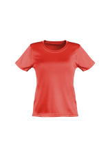 Damen Lauftrikot basic rot