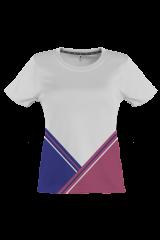 SportsTime Multiform Shirt Women weiss/beere vorne
