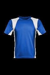 Men´s Runner´s High Funktionsshirt royalblau/weiß