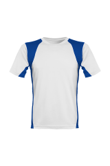 Men´s Runner´s High Funktionsshirt weiß/blau