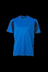 Fussball Trikot blau/schwarz