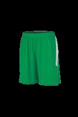Fußball Hosen grün/weiß bedrucken