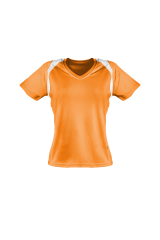 Marathon Shirt Damen orange