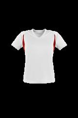 Women´s Runner´s High Funktionshirt weiß/rot