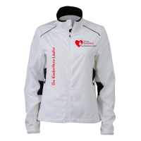Ladies Performance Laufjacke Kinderherz