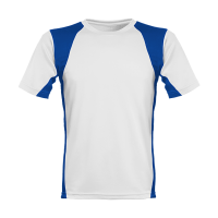 Men´s Runner´s High Funktionsshirt weiß/blau