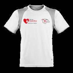 Herren Marathon Shirt KinderHerz 7CRun