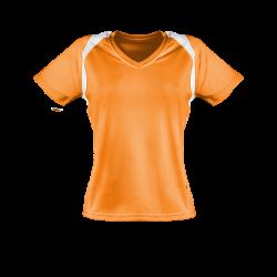 Marathon Shirt Damen orange