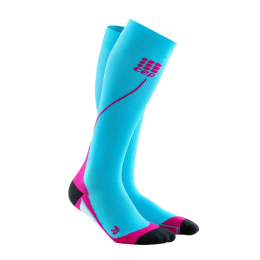 CEP Damen Run Socks 2.0 hawaiblue/pink