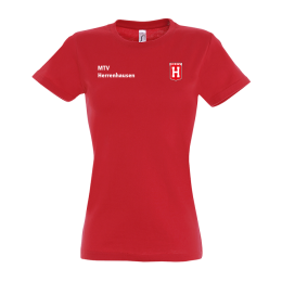 Damen T-Shirt MTV Herrenhausen Rot
