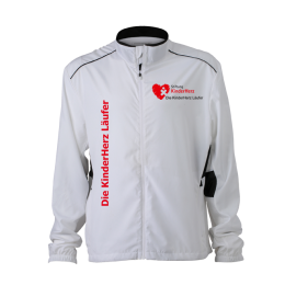 Men´s Performance Laufjacke Kinderherz