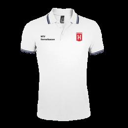 Herren Polo Shirt MTV Herrenhausen weiß