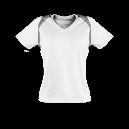 Marathon Shirt Herren weiß/silber