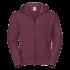 eSport Zipped Hood Jacket burgundy