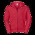 eSport Zipped Hood Jacket red