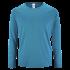 Herren Sport T-Shirt langarm aqua