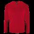 Herren Sport T-Shirt langarm rot