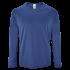 Herren Sport T-Shirt langarm royal