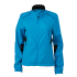 Ladies Running Jacket atlantic/black