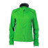 Ladies Running Jacket grün/schwarz