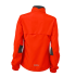Ladies Running Jacket grenadine/black Rückseite