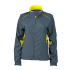 Ladies Running Jacket irongrey/lemon