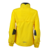 Ladies Running Jacket lemon-irongrey Rückseite